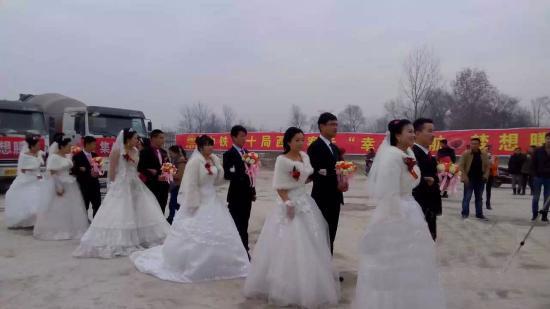 四川ManBetX体育官网商品manbetx手机登录注册有限责任公司新闻六对新人结婚