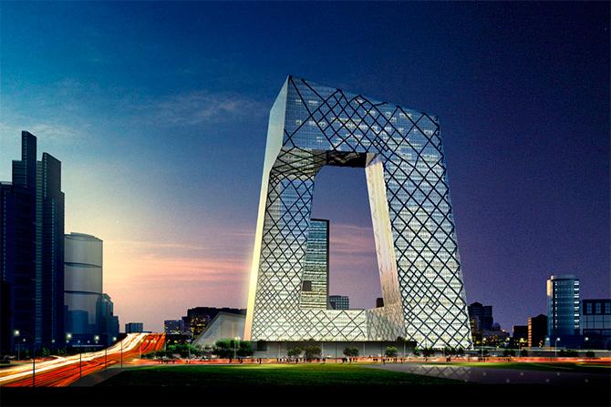北京中央电视台总部大楼